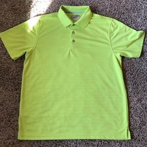 Men's Neon golf polo